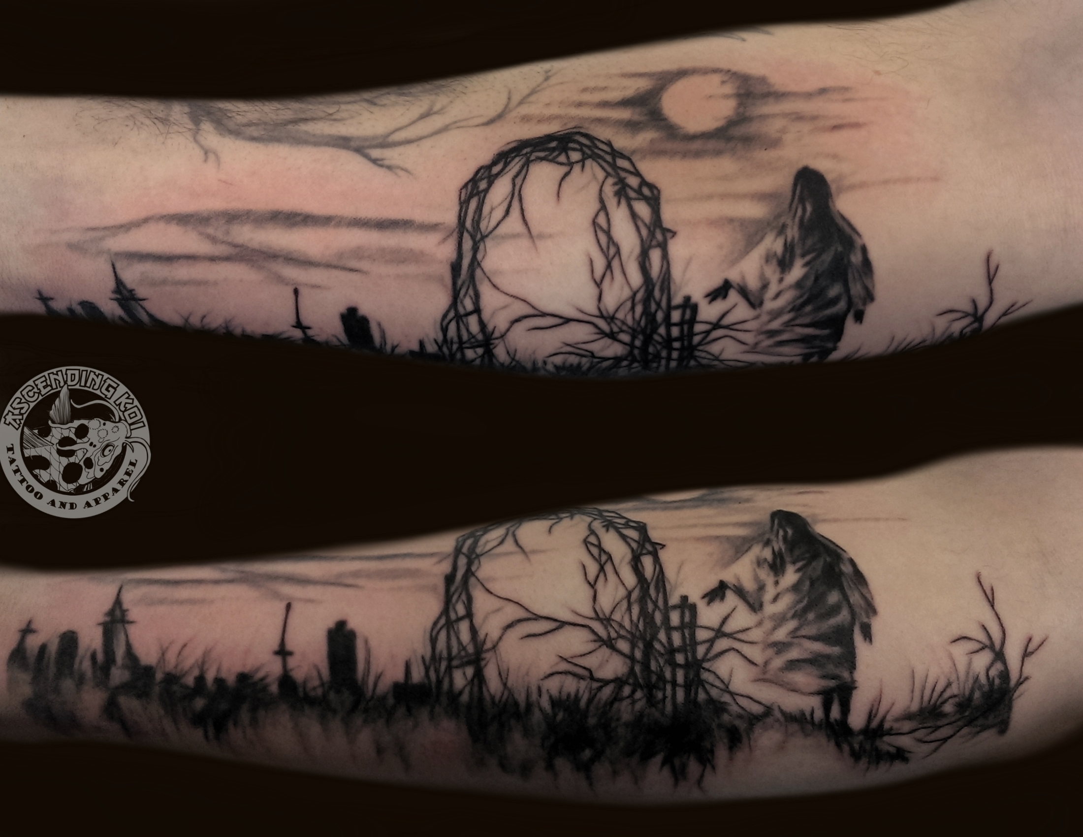 Displaying 19 gt images for spooky tattoos