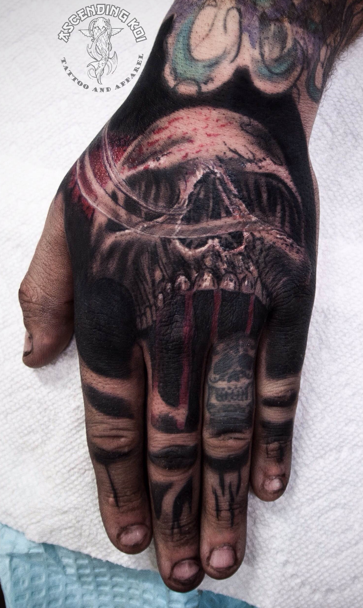 Small Skull Tattoo On Hand: March Tattoos Of The Month